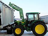 Фронтальный погрузчик Hydrometal на тракторы John Deere, фото 4