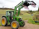 Фронтальный погрузчик Hydrometal на тракторы John Deere, фото 7