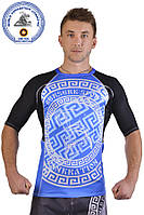 Рашгард for pankration BERSERK APPROVED WPC NEW blue
