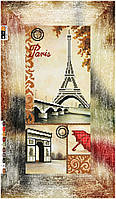 "Схема для вышивки бисером ""Париж"" , на холсте 21х43 см"