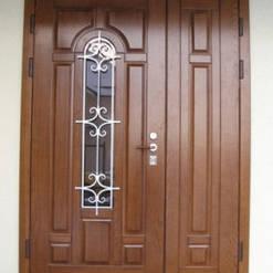 Уличные двери с ковкой и винорит покрытием 3