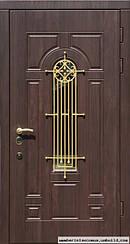 Уличные двери с ковкой и винорит покрытием 4