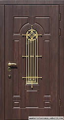 Уличные двери с ковкой и винорит покрытием -1