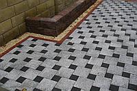 Тротуарная плитка с гранитами