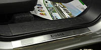Накладки на пороги Fiat Doblo 10+