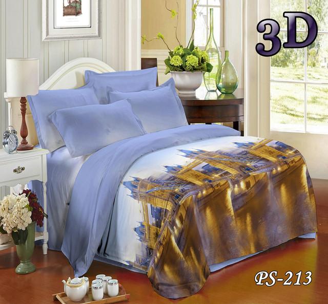 Комплект постельного белья Тет-А-Тет двуспальный  PS-213