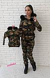 """Стильный костюм """"Милитари"""" мама-дочка (отдельно), фото 4"""