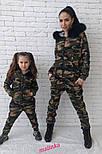 """Стильный костюм """"Милитари"""" мама-дочка (отдельно), фото 6"""