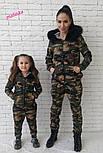 """Стильный костюм """"Милитари"""" мама-дочка (отдельно), фото 7"""