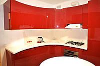 Круглая кухня Rubinrot