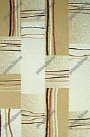 """Высоковрсный ковер Шагги """"Шторка"""", цвет кремовый"""