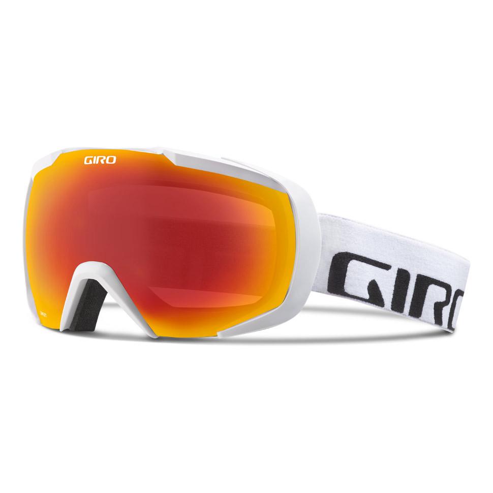 Горнолыжная маска Giro Onset белая Wordmark, Zeiss, Amber Scarlet 40% (GT)