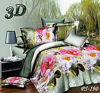 Комплект постельного белья Тет-А-Тет двуспальный  PS-190, фото 1