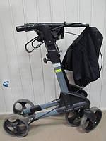 Легкие маневренные ходунки  для взрослых на колесах   б.у для реабилитации Германия