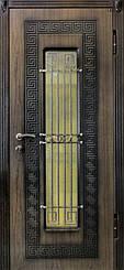 Уличные двери с ковкой и винорит покрытием 6