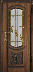 Уличные двери с ковкой и винорит покрытием 7
