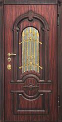 Уличные двери с ковкой и винорит покрытием 8