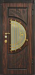 Уличные двери с ковкой и винорит покрытием 9