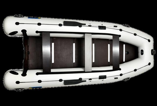Моторные надувные килевые лодки в Украине - лодки под мотор каталог - моторні човни - Омега 450 LUX