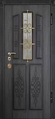Уличные двери с ковкой и винорит покрытием 11
