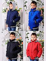 Весенняя куртка-бомбер для мальчиков Мачо