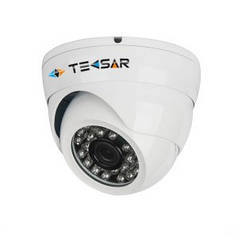 Купольная TVI камера Tecsar AHDD-1Mp-20Fl-in-THD