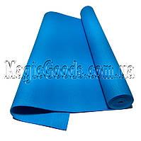 Коврик для йоги (йога мат) 4мм Бирюзовый