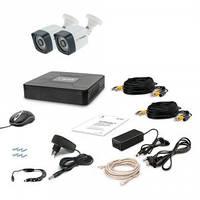 Комплект видеонаблюдения Tecsar AHD 2OUT LIGHT LUX
