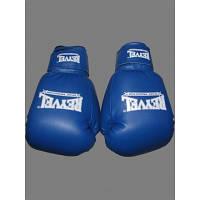Боксерские перчатки REYVEL Винил Синие 12унц