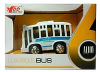 Автобус (свет, звук) белый, MingYuan