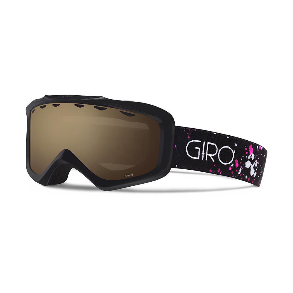 Горнолыжная маска Giro Grade чёрная/Magenta Speckle, Amber Rose 40% (GT)