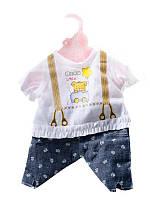 "Одежда для куклы ""Baby Вorn"" р.22,5*0,5*28,5 см"