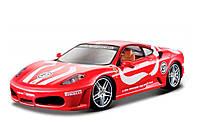 Модель - Ferrari F430 Fiorano  (красный) 1:24, Bburago