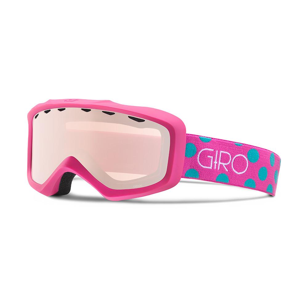 Горнолыжная маска Giro Grade Flash Magenta/Torquoise Dots, Rose Silver 30% (GT)