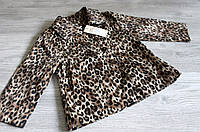 Леопардовый плащик на девочку