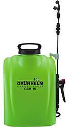 Аккумуляторный опрыскиватель Grunhelm GHS-16