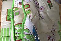Двуспальное одеяло с открытым мехом