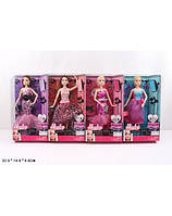 """Кукла типа """"Барби"""" 4 вида,шарнир,в кор. 32*18*6см (Кукла типа)"""