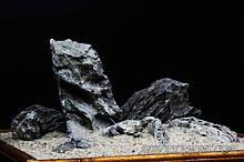 Чорний кварц (Seiryu stone)