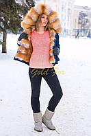 Парка с мехом лисы канадской