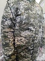 Зимний камуфляж Уставной пиксель ВСУ синтепон+Шерсь 100% ХБ