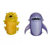 Корзина для игрушек товар (45*80)2 вида микс в сумке со змейкой 50см
