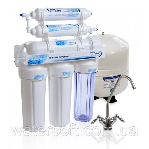 Система очистки воды Aqualine RO-6