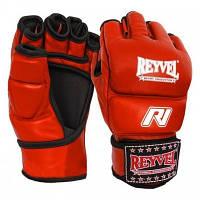 Перчатки М1 REYVEL кожа красные