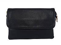 Женская сумочка кросс-боди (черная)  №2188-21