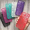 Чехол пластик узоры на iPhone 5/5s/SE