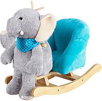 Детское кресло-качалка Rock My Baby 3в1 Слоник  (JR2503)