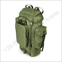 Туристический рюкзак 75 литров олива для туризма, армии, рыбалки нейлон