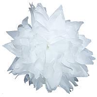 Помпон белый 35 см свадебный