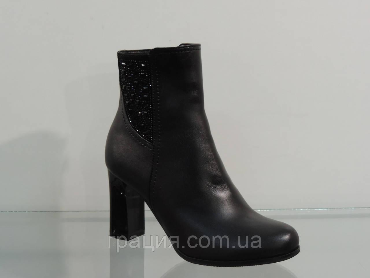 Ботиночки женские демисезонные на каблуке